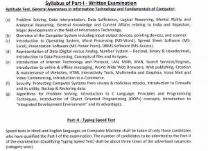 Informatics Assistant Syllabus