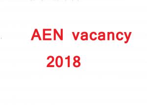 Aen vacancy in rajasthan