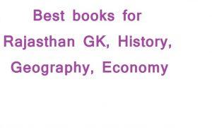 Best book for Rajasthan GK